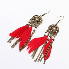 feather earrings nz handmade fashion feather earrings nz buy new handmade fashion