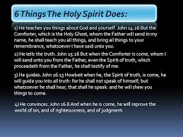 Holy Spirit My Comforter Person Of The Holy Spirit Ppt Download