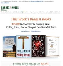 Barnes And Nobles Membership Newsletter U2013 Page 47 U2013 Email Gallery