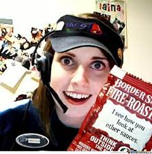 The Overly Attached Girlfriend Meme - overly attached girlfriend birthday meme google search oagf