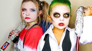 kids become real life squad harley quinn and the joker