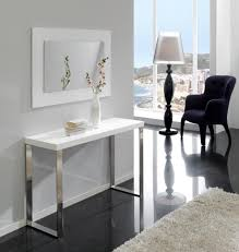 Black Gloss Console Table Console And Hall Tables Modern Furniture Trendy Products