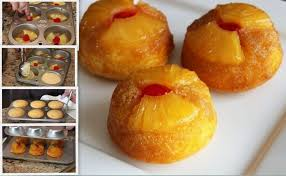 myfridgefood pineapple upside down cupcakes