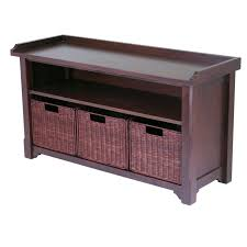 Small Bedroom Storage Bench Simple Small Bench With Storage Homesfeed