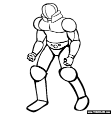 super villains coloring pages 1