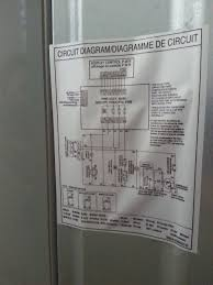 lg double door refrigerator circuit diagram repair throughout