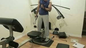 workout on the weider crossbow max showing a few exercise youtube