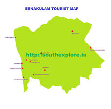 Kerala India Map by Ernakulam Tourist Map Tourist Places In Ernakulam Kerala