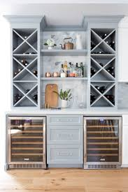 Gray Bar Cabinet A Cape Cod In California Gets New Life Rue Dining Room
