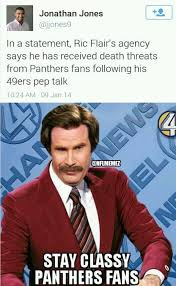Carolina Panthers Memes - nfl memes on twitter a classy move by carolina panthers fans nfl