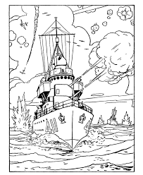 armed forces day coloring page us navy cruiser crafts