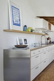 kitchen island stainless steel top best 25 stainless steel countertops ideas on pinterest