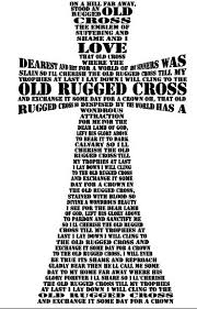 Old Rugged Cross Old Rugged Cross Svg