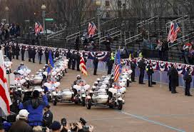 photos president trump u0027s inaugural parade attracted relatively