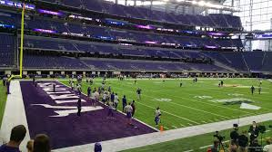 map us bank stadium u s bank stadium section 114 rateyourseats