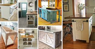 how to make your own kitchen island with cabinets 23 best diy kitchen island ideas and designs for 2021