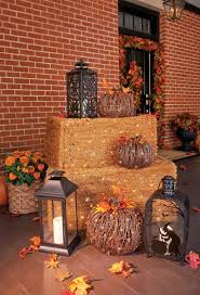 How To Decorate Your House For Fall - outside fall decorating ideas improvements blog