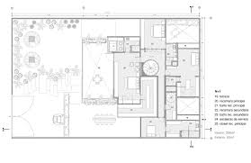 first floor plan of contemporary modern house plan 50324 home