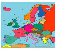 updated map of europe 36 best maps images on cards world maps and destinations