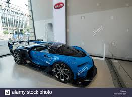 concept bugatti bugatti veyron vision gran truism gt6 concept car on display at