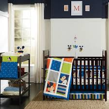 Nursery Bedding Sets For Boy by Mickey Mouse Crib Bedding For Cute Bedroom Beauty Home Decor