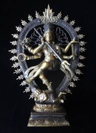 spiritual statues shiva nataraja god bronze brass mix statue meditation hindu