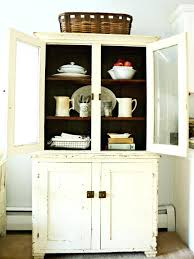 corner kitchen hutch cabinet china cabinet plans new small china cabinet intended for kitchen