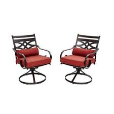 Motion Patio Chairs Hton Bay Middletown Patio Motion Dining Chairs With Chili