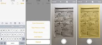 ios 11 how to scan documents with the notes app 9to5mac