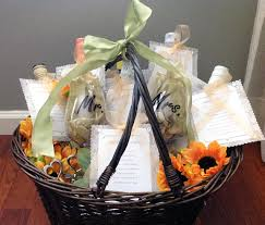 bridal shower basket ideas s bridal shower wine basket