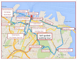 Ocean City Map One Day Auckland Itinerary Self Guided Walking Tour Jetsetting