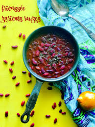 cuisiner des haricots rouges secs fricassée de haricots rouges à la mauricienne idéale pour