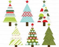 chevron christmas tree clipart red teal clip art library