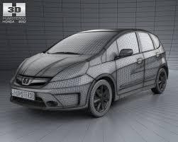 2013 Honda Fit Interior Honda Fit Ge Twist With Hq Interior 2013 3d Model