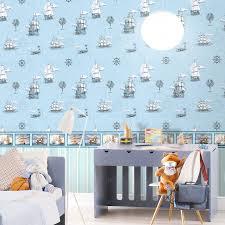 Wallpaper For Children 3d Modern Natural Pure Paper Cartoon Wallpaper For Children S