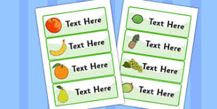 editable fruit fruit and vegetables classroom signs and labels page 1
