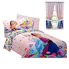 Frozen Elsa Bedroom Amazon Com Disney Frozen Bedroom Decor Anna U0026 Elsa Comforter