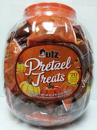 bulk halloween treat bags amazon com utz halloween pretzels 70 bags per tub