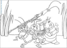 bugs coloring pages 24 free disney printables kids