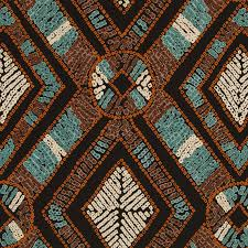 Roman Upholstery Aqua Blue Brown Upholstery Fabric Modern Copper And Aqua