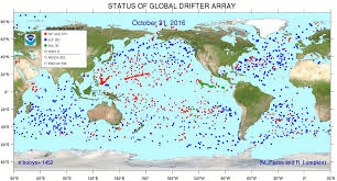 Surface Map Phod The Global Drifter Program