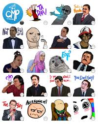 Stickers Meme - complete meme pack stickers telegram