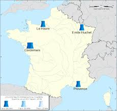 Provence France Map File Coal Power Plants In France Map Fr 2016 Svg Wikimedia Commons