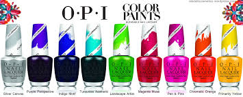 a nail art collection from o p i let u0027s talk cosmetics