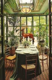 House Design Inside Garden Garden Dining Room Botany Pinterest Room Dining Room