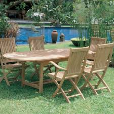 6 Seat Patio Table And Chairs Round Patio Dining Set Seats 6 Potting Bench Outdoor Dining