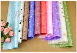 gift plastic wrap free shipping waterproof plastic wrapping paper wrap gift bouquet