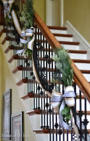 Christmas Lights For Stair Banisters 40 Gorgeous Christmas Banister Decorating Ideas Christmas