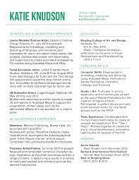 Best Resume Updates by Resume Katie Knudson Portfolio
