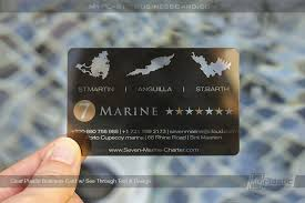 Marine Business Cards My Plastic Business Card Custom Printed Plastic Business Cards